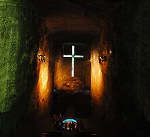 COLOMBIA, Salt Cathedral in Zipaquirá (Bogota) by WhiteUnicorn