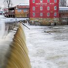 Bridgeton Mill - Indiana by Kenneth Keifer