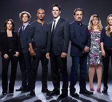 criminal minds cast 2015 by SamsPopArt