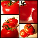 Tomato Collage by Chelsea Brewer