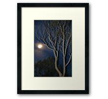 Quilpie Moon © Vicki Ferrari Framed Print