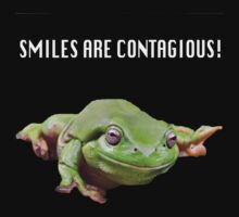 Smiles are Contagious by Sally  Djurovich