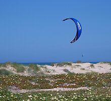Lonely Kite Surfer by justbyjulie