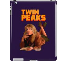 Twin Peaks Fiction (Pulp Fiction parody) iPad Case/Skin