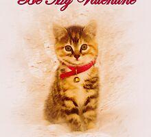 Kitten Valentine by Richard Hamilton-Veal