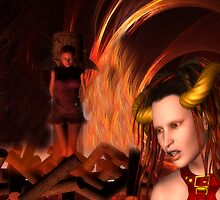 the pyre by Cheryl Dunning