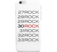 Counting to 30 Rock iPhone Case/Skin