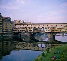 Italy Florence Pontevecchio by Luigi Petro