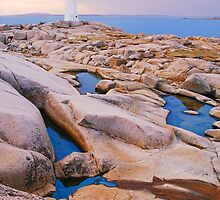 The Light at Peggy's Cove by Nancy Barrett