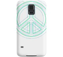 Peace Sign Symbol Abstract 1 Samsung Galaxy Case/Skin