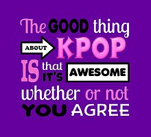 GOOD THING ABOUT KPOP - PURPLE by CynthiaAd