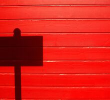 Street Sign Shadow, San Juan, Puerto Rico by fauselr