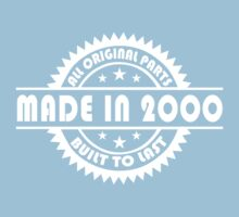 MADE IN 2000 by mccdesign
