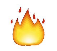 Fire Apple / WhatsApp Emoji by emoji