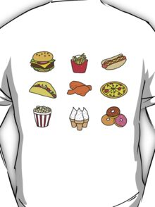 Food Stickers T-Shirt