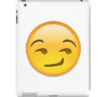 Smirking Face Apple / WhatsApp Emoji iPad Case/Skin