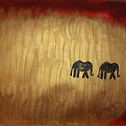 elephants march 2 by Collyn Barr
