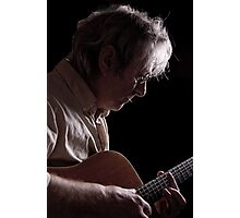 The Guitar Man Photographic Print