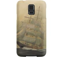 'Before the Storm'!, Tall Ship. Oil on Canvas.  Samsung Galaxy Case/Skin