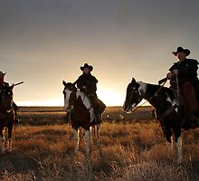 Riders by Paul  Threlkel