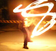 FIRE TWIRLING by Carmel  Morrissy