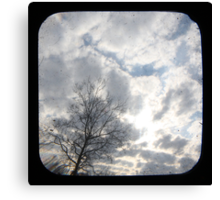 Clouds TTV Canvas Print