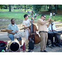Central Park Players Photographic Print