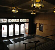 The front lobby of the Empire Theatre, looking out. Neil St. Toowoomba Qld. Australia by Marilyn Baldey