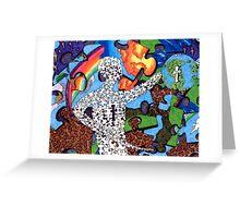 """Puzzle Man"" Greeting Card"