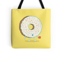 The Sleepy Donut Tote Bag
