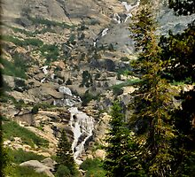 Sequoia Waterfall by HeavenOnEarth
