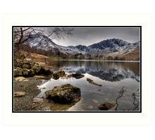 Buttermere and Haystacks Art Print