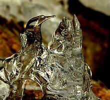 The Ice Herron by knut hansen