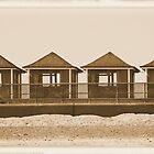 The Beach Huts by PixelChez