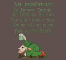 An Irishman Is Never Drunk by Lotacats