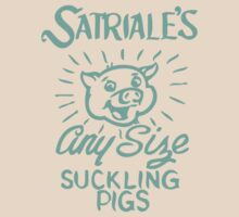 Satriale's - Any Size Suckling Pigs by rigg