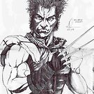 wolverine concept 01 by Andrew Pearce