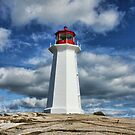 Peggy&#x27;s Cove Lighthouse, Nova Scotia by Amanda White