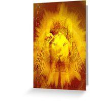 Archangel Ariel'... Greeting Card