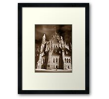 Gothic View of the  Library of Parliament Framed Print