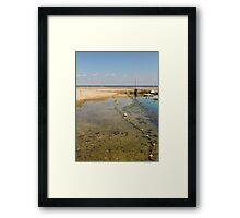 Tide's Out at Fouras Framed Print