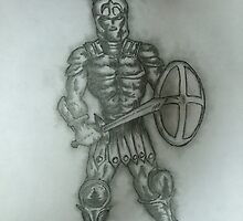 Roman Soldier  by alkapone26