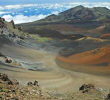 Haleakala Landscape by Stephen Vecchiotti