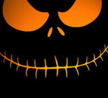 Nightmare pumpkin Sticker
