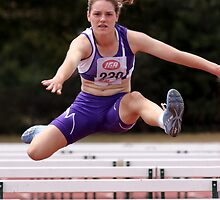 Hurdle Style by fotosports