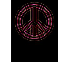 Peace Sign Symbol Abstract 3 Photographic Print