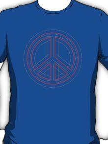 Peace Sign Symbol Abstract 3 T-Shirt