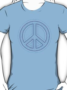 Peace Sign Symbol Abstract 4 T-Shirt