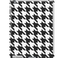 Classic Houndstooth Pattern iPad Case/Skin