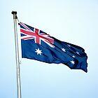 Australian Flag by Loriene Perera